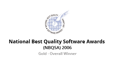 BCS National Best Quality Software Awards - 2006